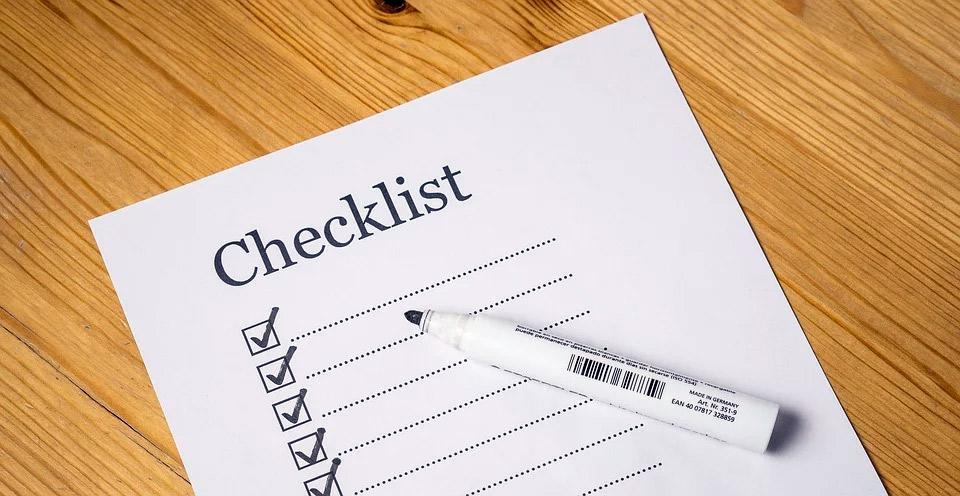 traducciones juradas de los certificados académicos - checklist